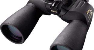 Nikon Action EX 12x50 CF Fernglas auf weissem Grund