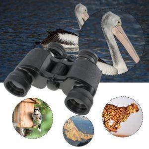 Docooler Fernglas 8x40 vor Tierbildern und Wasser Hintergrund