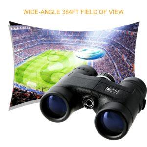 K&F Concept® 8X32 Fernglas auf Fussballstadionn