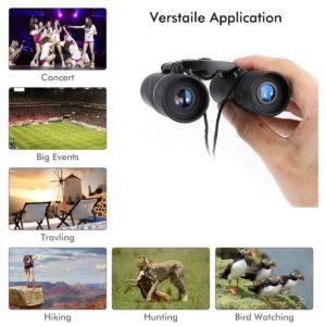 Fernglas Aitesco 8x21 mit Anwendungsmoeglichkeiten