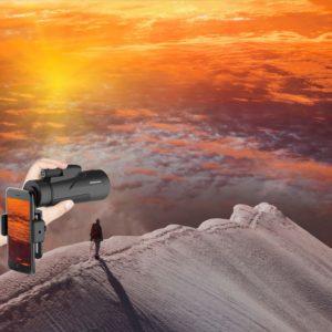 12X50 Monokular Teleskop vor Horizontblick