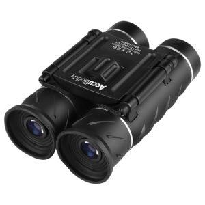 AccuBuddy Fernglas - Leichtes Mini Binocular auf weissem Grund