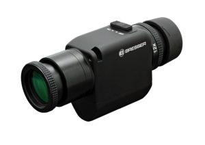 Bresser Zoom Monokular mit Bildstabilisator aufweissem Hintergrund